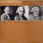 view The Clementi piano. Vol. 1 [sound recording] / played by John Newmark digital asset number 1