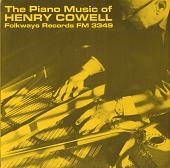 view The piano music of Henry Cowell [sound recording] digital asset number 1