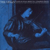 view The violin. Vol. 1 [sound recording] / played by Hyman Bress digital asset number 1