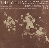 view The violin. Vol. 2 [sound recording] / played by Hyman Bress ; accompanied by Charles Reiner digital asset number 1