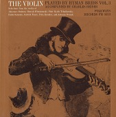 view The violin. Vol. 3 [sound recording] / played by Hyman Bress ; accompanied by Charles Reiner digital asset number 1