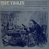 view The violin. Vol. 4 [sound recording] / played by Hyman Bress ; accompanied by Charles Reiner digital asset number 1