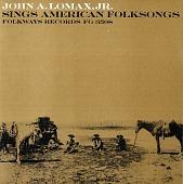 view John A. Lomax, Jr. sings American folksongs [sound recording] digital asset number 1