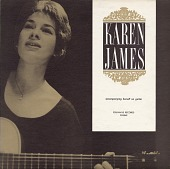 view Karen James [sound recording] : accompanying herself on guitar digital asset number 1