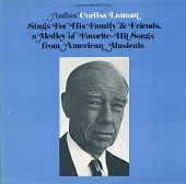 view Author Corliss Lamont sings for his family and friends [sound recording] : a medley of favorite hit songs from American musicals digital asset number 1