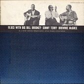 view Blues with Big Bill Broonzy, Sonny Terry, and Brownie McGhee [sound recording] : in a WFMT Chicago Presentation with Studs Terkel interviewing digital asset number 1