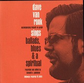 view Dave Van Ronk sings ballads, blues, and a spiritual [sound recording] / recorded and edited by Kenneth S. Goldstein digital asset number 1