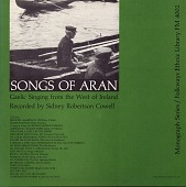 view Songs of Aran [sound recording] / recorded ... by Sidney Robertson Cowell digital asset number 1