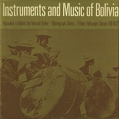 view Instruments and music of Bolivia [sound recording] / recorded by Bernard Keiler digital asset number 1