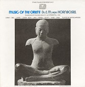 view Music of the Orient [sound recording] / Dr. E.M. von Hornbostel digital asset number 1