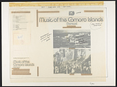 view Music of the Comoro Islands [sound recording] : Domoni / recorded by Harriet and Martin Ottenheimer digital asset number 1