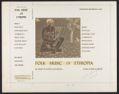view Folk music of Ethiopia [sound recording] digital asset number 1
