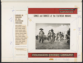 view Songs and dances of the Flathead Indians [sound recording] / recorded by Alan P. and Barbara W. Merriam digital asset number 1