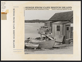 view Songs from Cape Breton Islands [sound recording] digital asset number 1