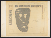 view Folk music of Liberia [sound recording] / recorded by Packard L. Okie digital asset number 1