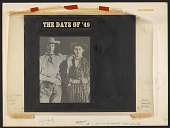 view The days of '49 [sound recording] : songs of the gold rush / sung by Logan English ... Billy Faier digital asset number 1