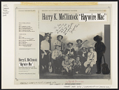 view Haywire Mac [sound recording] / Harry K. McClintock ; recorded by Sam Eskin digital asset number 1