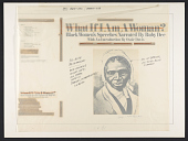 view What if I am a woman? 1 [sound recording] : black women's speeches / narrated by Ruby Dee ; with introductions by Ossie Davis digital asset number 1