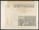 view Berkeley teach-in: Vietnam [sound recording] / edited by Louis Menashe digital asset number 1