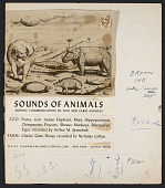 view Sounds of animals [sound recording] digital asset number 1
