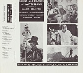 view Songs and dances of Switzerland [sound recording] / recorded by Laura Boulton digital asset number 1