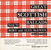 view Great Scottish ballads [sound recording] / sung by Alex and Rory McEwen digital asset number 1