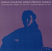 view Sonia Malkine sings French songs [sound recording] / accompanying herself on the lute digital asset number 1