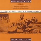 view Yoga music of India, vol. 1 [sound recording] / sung with veena accompaniment by Swami Vidyananda digital asset number 1