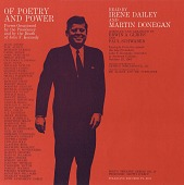 view Of poetry and power [sound recording] : poems occasioned by the presidency and by the death of John F. Kennedy / read by Irene Dailey and Martin Donegan digital asset number 1