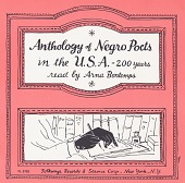 view Anthology of negro poets in the U.S.A. - 200 years [sound recording] / read by Arna Bontemps digital asset number 1