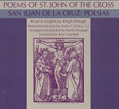 view St. John of the Cross, vol. 2 [sound recording] = San Juan de la Cruz : poesias / read in English by Khigh Dhiegh ; translated by Roy Campbell ; arranged and directed by Martin Donegan digital asset number 1