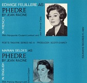 view Phèdre [sound recording] : in French and English / Jean Racine digital asset number 1
