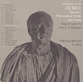 view Selections from Cicero [sound recording] : speeches, philosophical works & letters / read in Latin by John F.C. Richards digital asset number 1