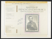 view Masters of French Canadian music. 3 [sound recording] digital asset number 1
