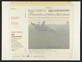 view Ragtime #2 [sound recording] : the country: mandolins, fiddles, and guitars / compiled and annotated by Samuel Charters digital asset number 1