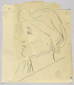 view Sketch of a Woman's Head digital asset number 1