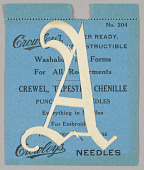 view Crowley's Fiber Letter Foundations for Embroidery digital asset number 1