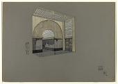view Design for an Art Deco Arched Storefront digital asset number 1