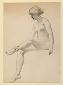 view Seated Female Nude digital asset number 1