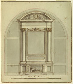 view Design for an Altar on a Wall of a Chapel digital asset number 1