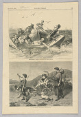 view Blue-Fishing, Illustration for Harper's Weekly (XVI, August 10, 1872, p. 625) digital asset number 1