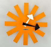view Asterisk Wall Clock, Model 2213 digital asset number 1