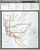 view New York City Subway Map digital asset number 1