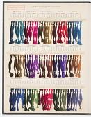 view Carte de Nuances de la Chambre Syndicale des Teinturiers digital asset number 1