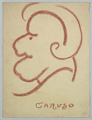 view Caricature of a Man, Caruso digital asset number 1