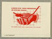 view Legen Sie Ihre Werbung im Meine Hand, Ing. Robert Lederer, Wien digital asset number 1