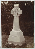 view A tombstone; a Gaelic cross digital asset number 1