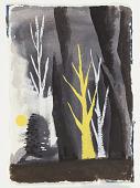 view Study for an Illustration, Forest Landscape digital asset number 1
