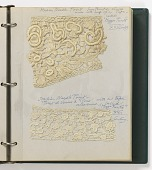 view Notebook of lace samples digital asset number 1
