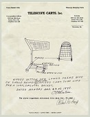 view Telescope Shopping Cart Drawing on Letterhead digital asset number 1